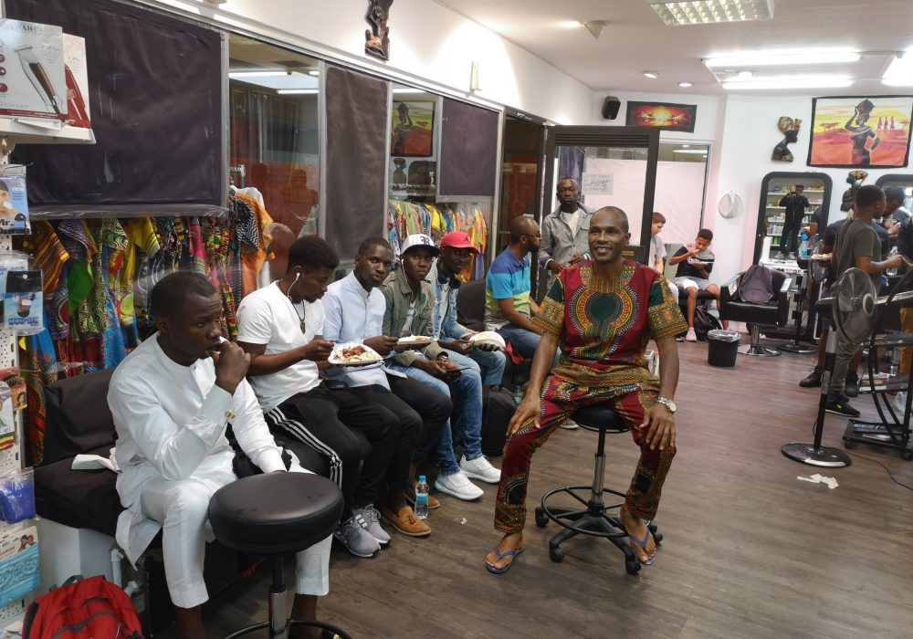 clickafric Malams African Barbershop clients