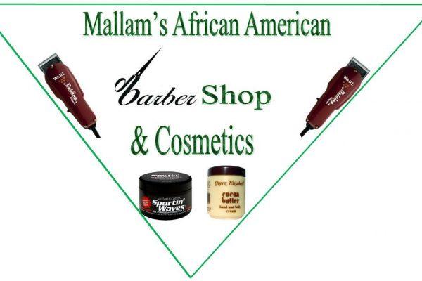 Clickafric Mallam African Barbershop Nuernberg Logo